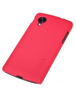 Carcasa protectie spate + folie ecran pentru LG Nexus 5 - rosie